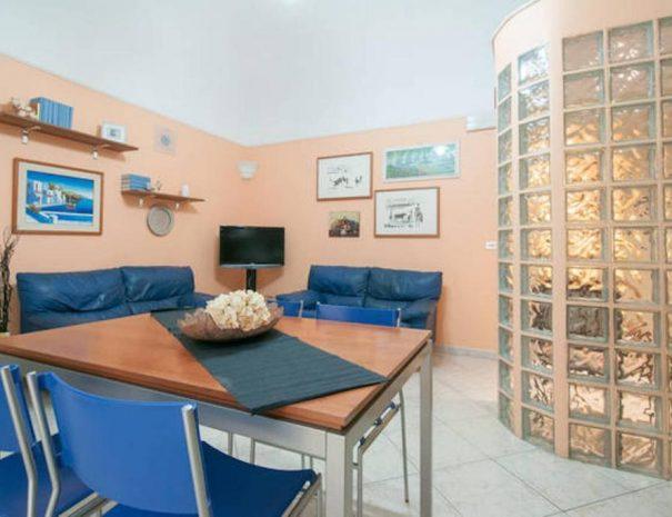 Cucina dell'appartamento Vittorio Emanuele Turenum Apartment Trani