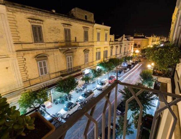 Dettaglio vista da appartamento Vittorio Emanuele Turenum Apartment Trani