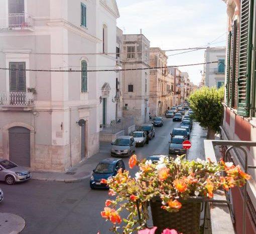 Dettaglio vista balcone Room Principe Amedeo