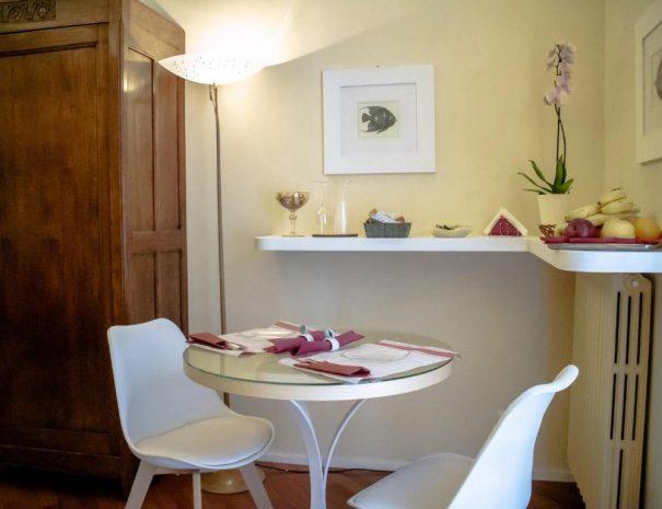 Dettaglio Room Principe Amedeo - Area food